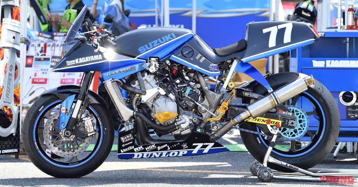 Tokyo Motorcycle Show – Suzuki Katana GSX-R1000 Race bike