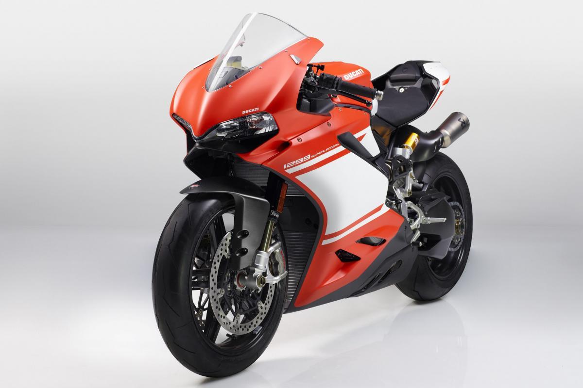 This is the new Ducati 1299 Superleggera