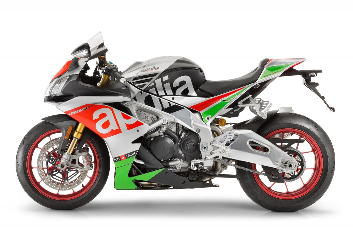 Aprilia unveils updated RSV4 RR and RF