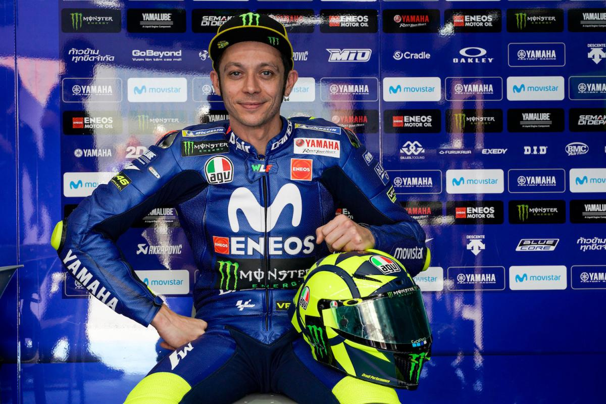 Rossi - new lid for Qatar 2018