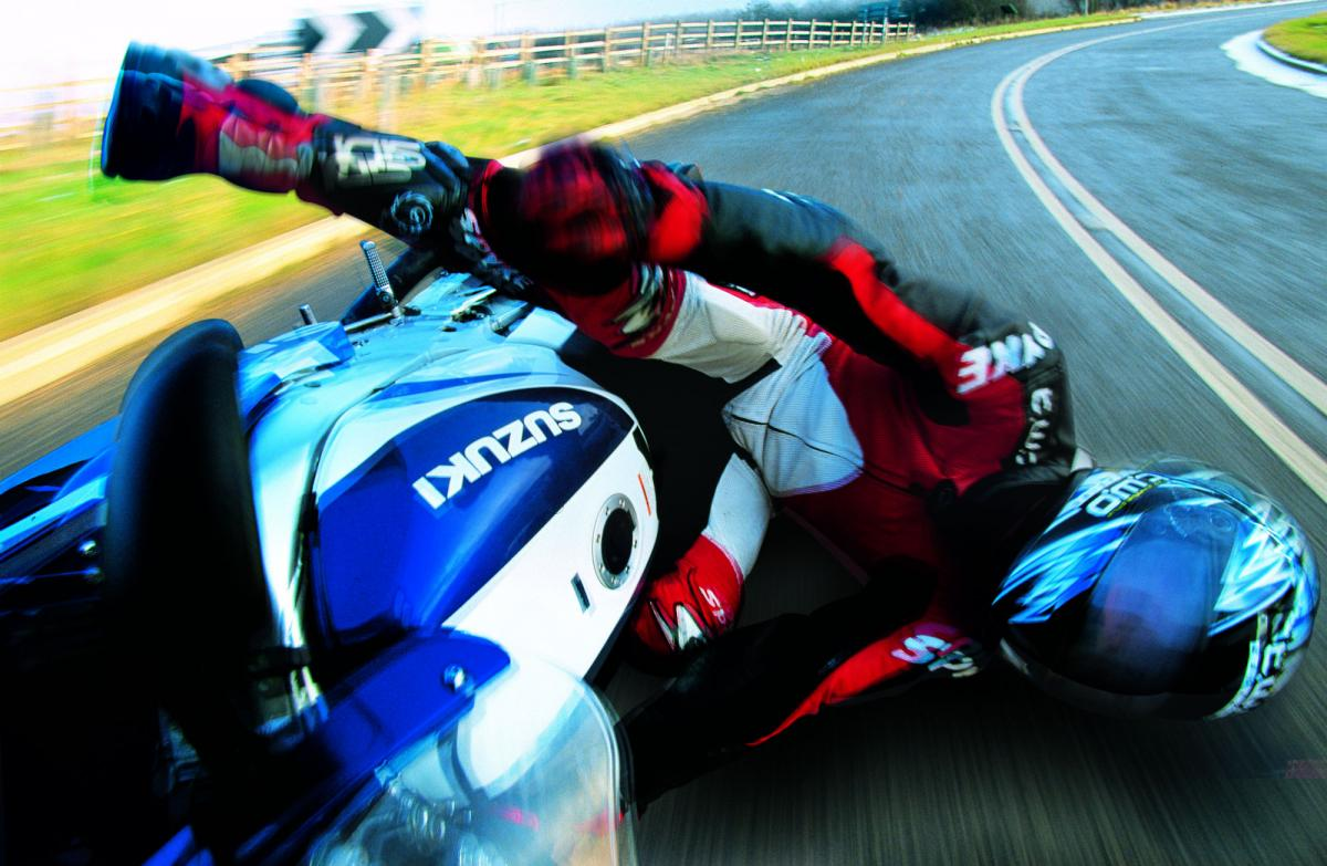 Five tips for getting back on a motorcycle after a crash