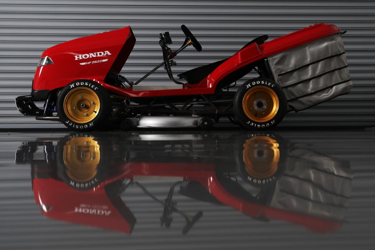 Honda to try and hit 150mph – on a lawn mower!