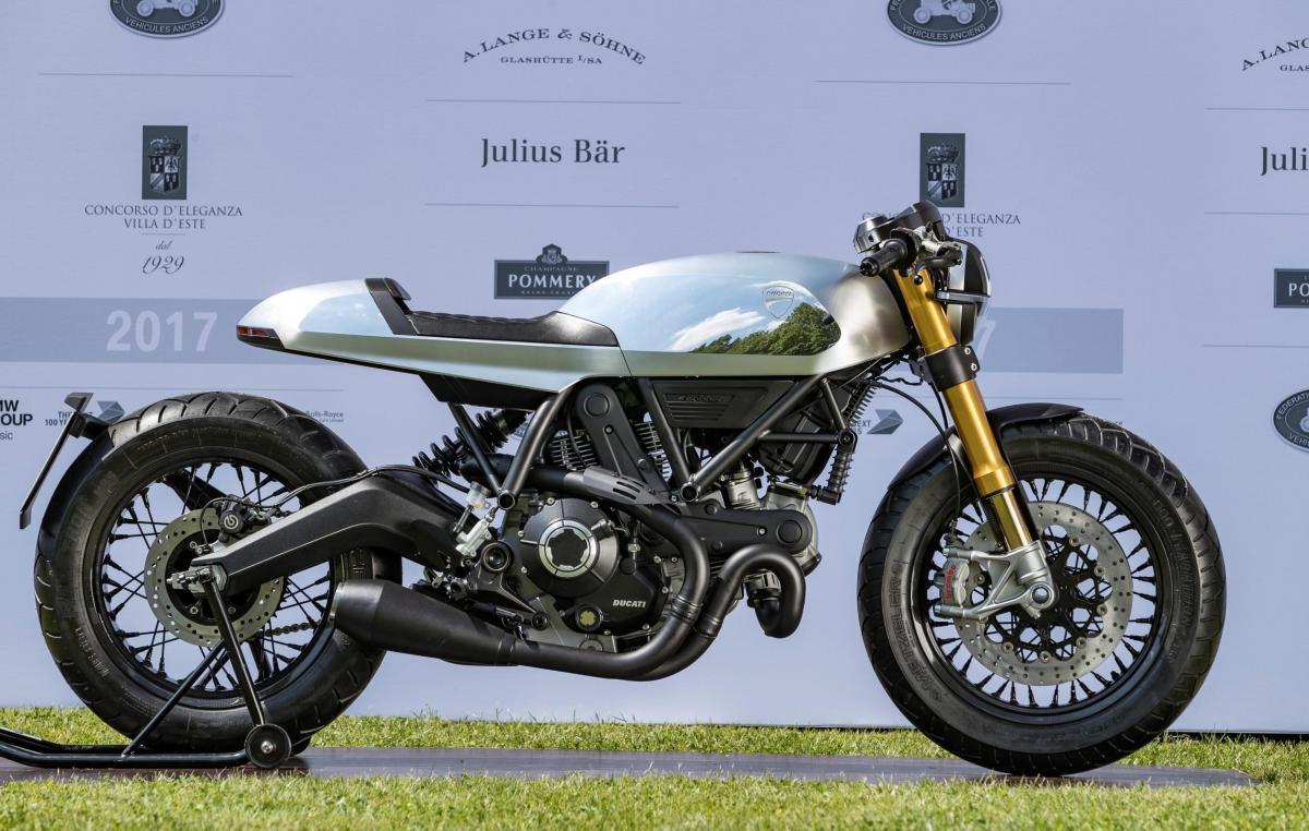 Ducati Scrambler Cafe Racer concept