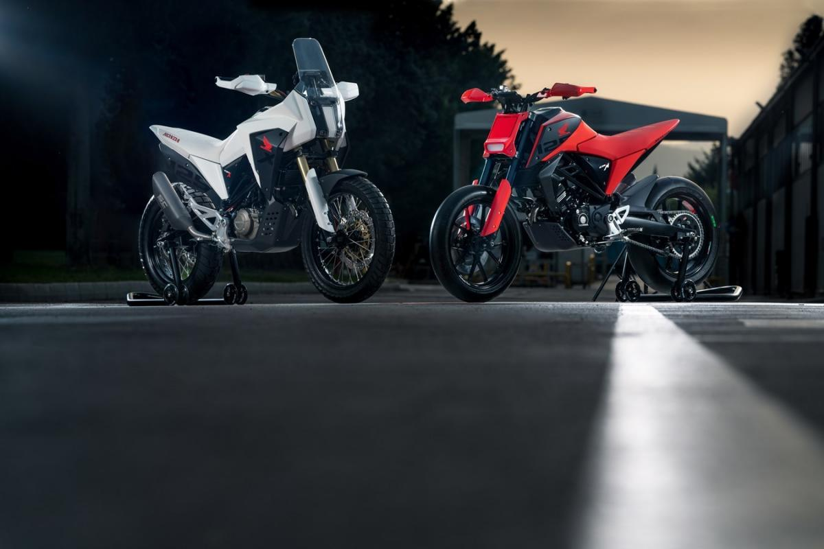 Honda CB125M and CB125X Concepts