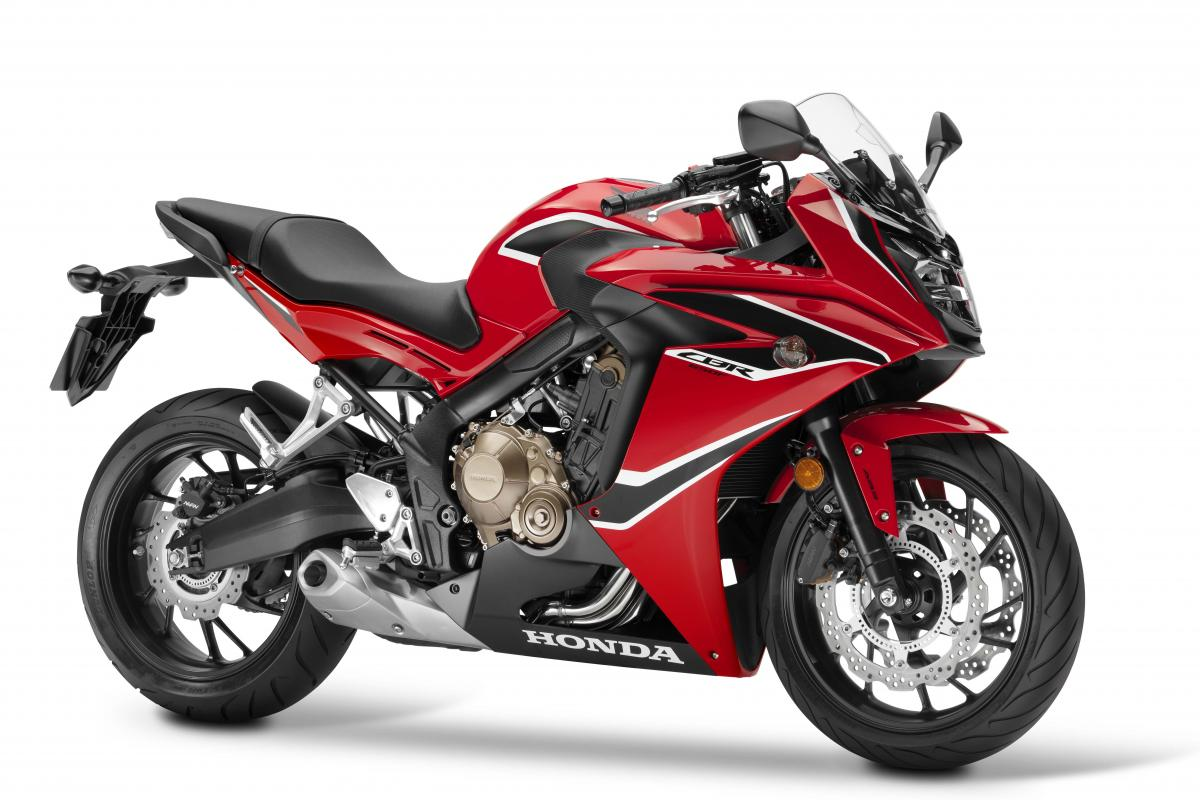 Honda reveals updated CBR650F
