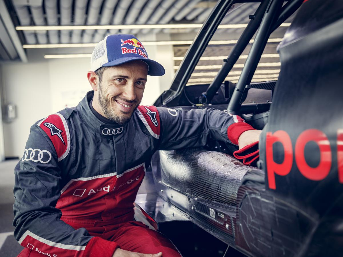 Dovizioso to race in DTM with Audi