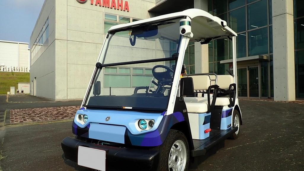 Yamaha begin trial of autonomous vehicles