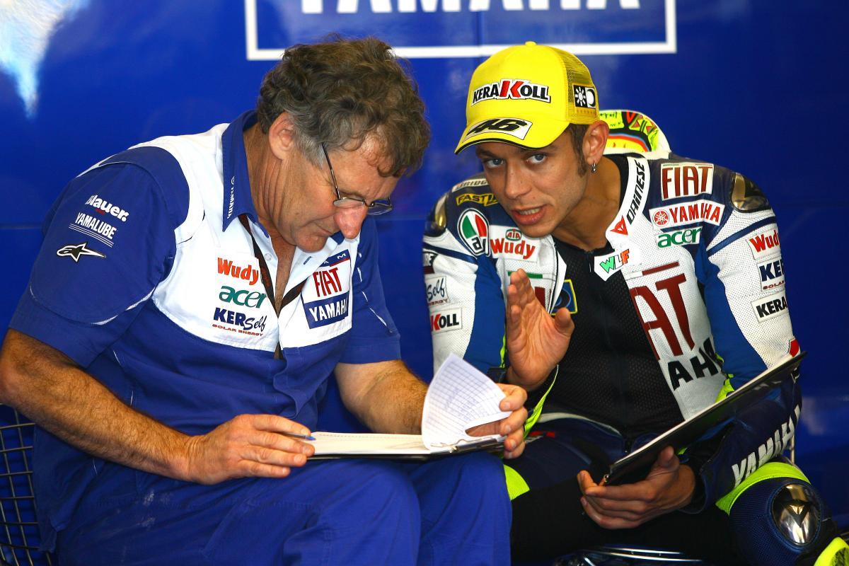 Valentino Rossi, Jerry Burgess