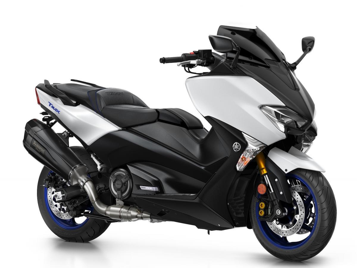 New Yamaha Tmax 2018 >> New Yamaha T Max Sport Edition But Not For Blighty Visordown
