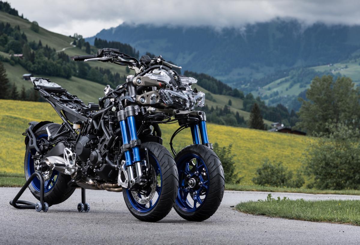 Exclusive Video Yamaha Niken Steering Secrets Revealed Visordown