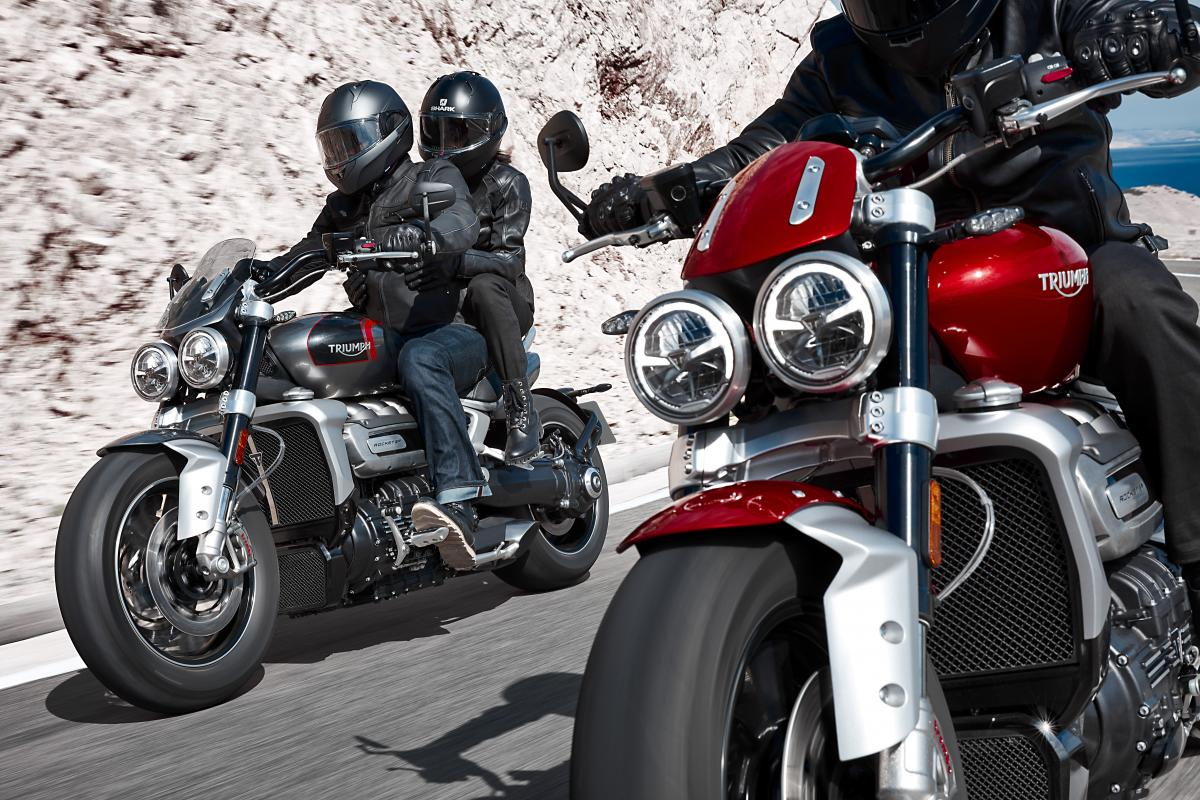 Triumph Rocket 3 R and Rocket 3 GT announced