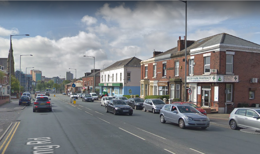 Moped thieves knock cyclist unconscious in Preston