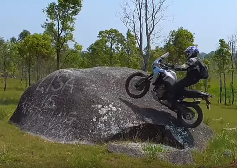 WATCH: This is how an Africa Twin should be ridden