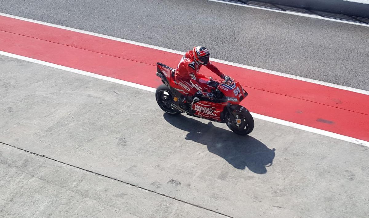 Sepang MotoGP Shakedown test - Day 3 LIVE!