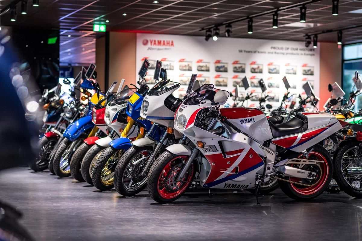 Yamaha Heritage Collection opened in Amsterdam
