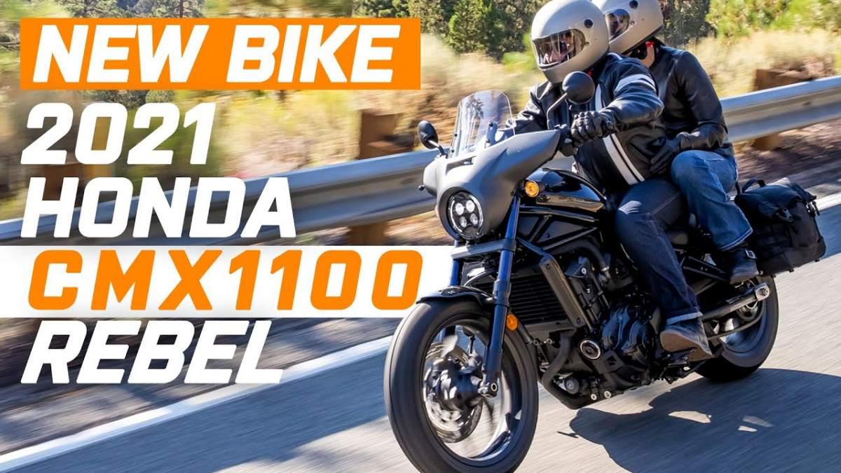 2021 Honda CMX 1100 Rebel