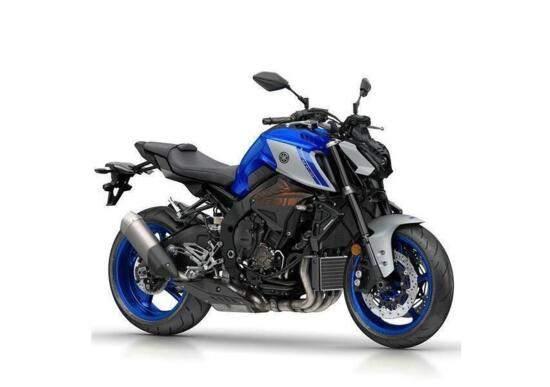 2021 Yamaha MT-10 rendering
