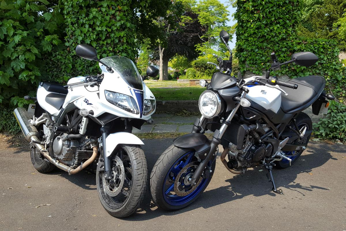 Long-term review: Suzuki SV650 old v new