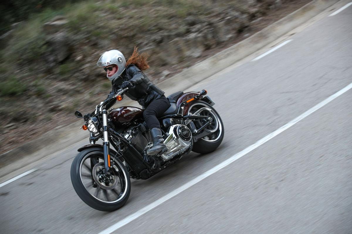 Survey paints picture of the UK's growing population of female bikers