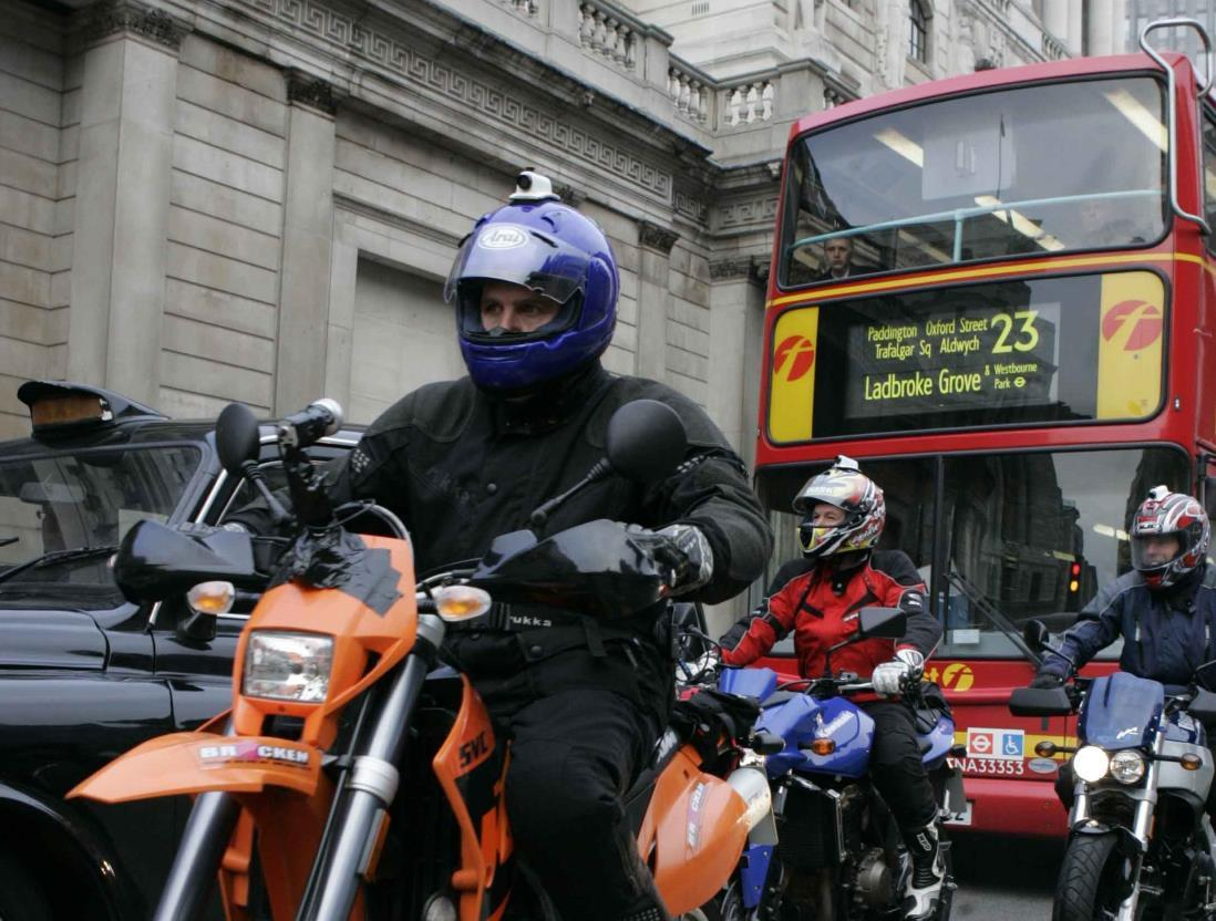Who rides London? Survey to profile two-wheeler use in the capital