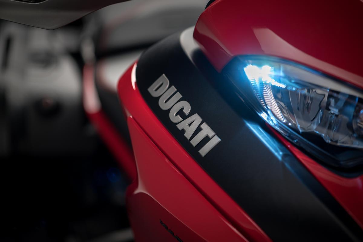 Ducati Multistrada Ducati logo