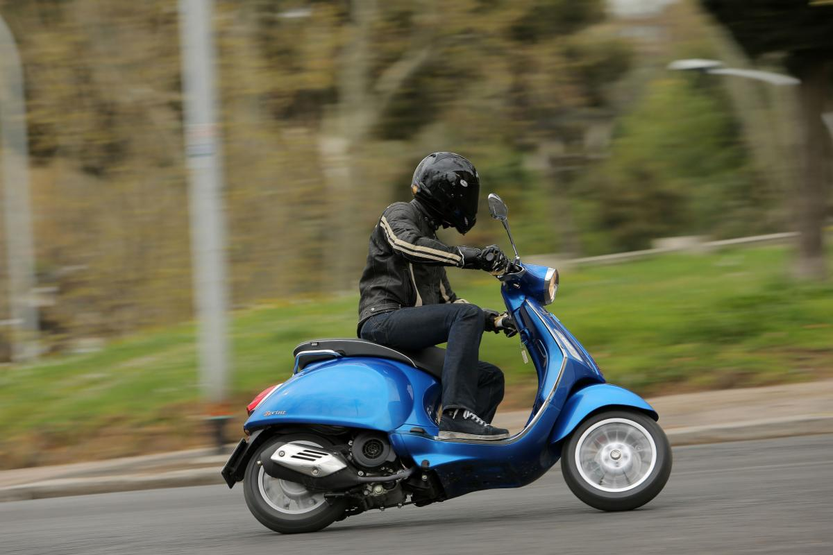 Vespas could be banned from their hometown!