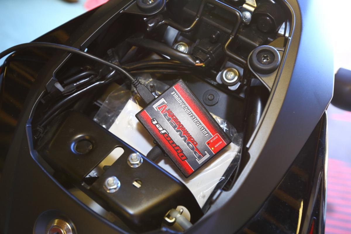Power Commander fit GSX-S750