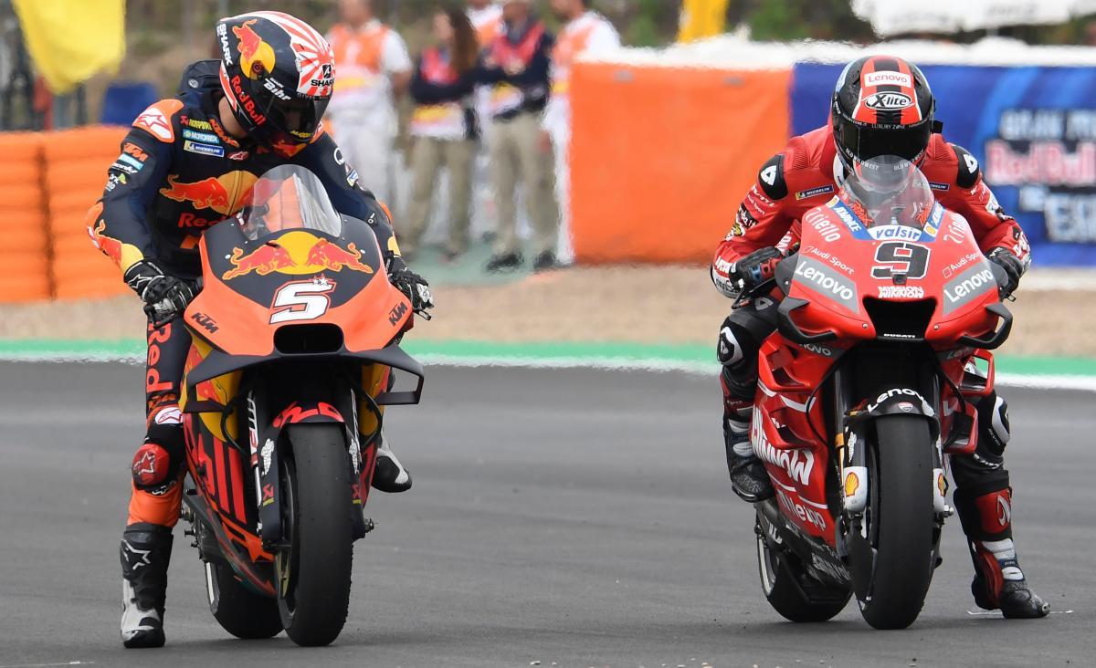 Danilo Petrucci, Ducati, KTM