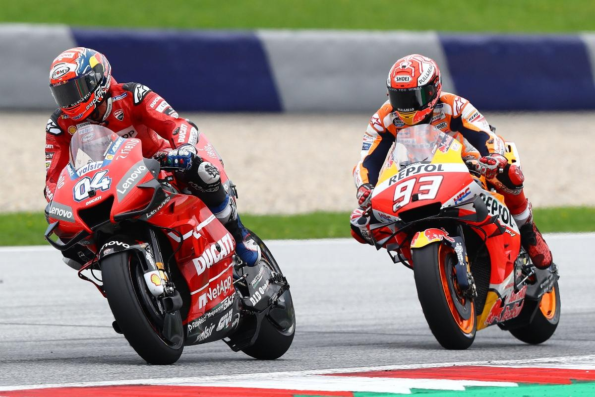 Andrea Dovizioso Expected Marquez To Change Teams Hint Visordown