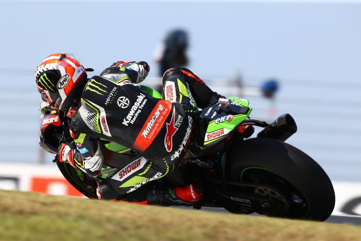 Jonathan Rea - Kawasaki Racing Team ZX-10RR