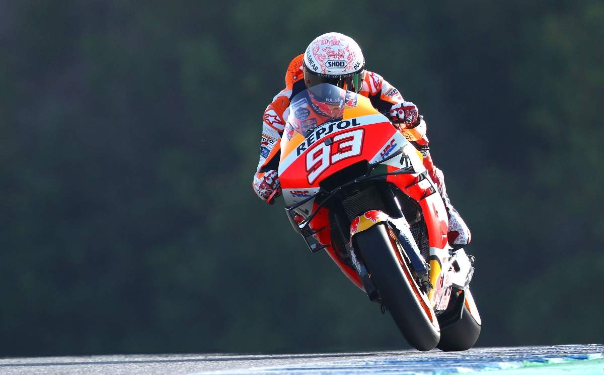 Marquez fit for Andalucia MotoGP despite broken arm