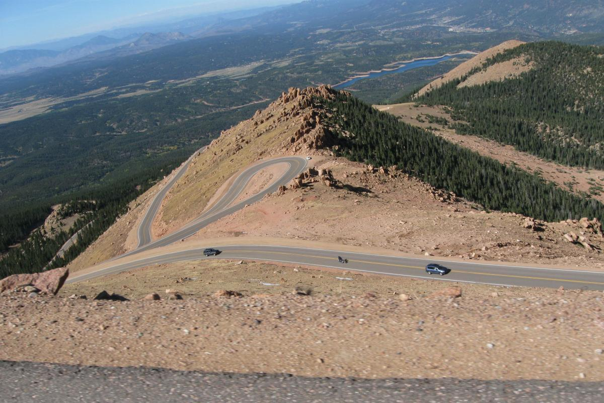 Pikes Peak could ban motorcycles