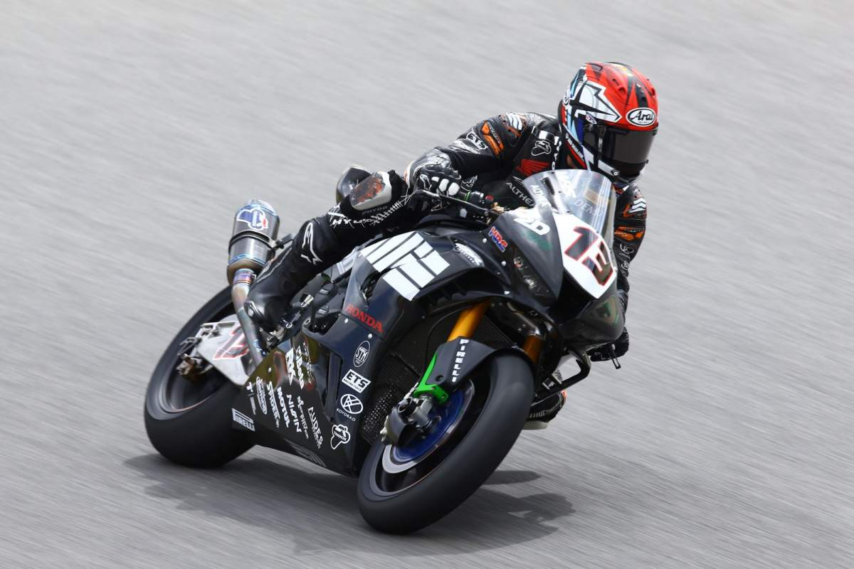 Takumi Takahashi - Honda WorldSBK MIE Racing