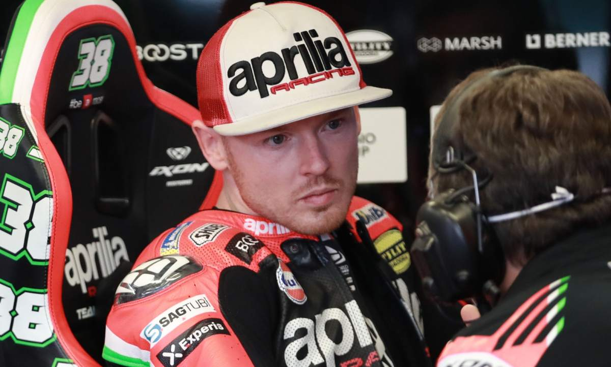 Bradley Smith - Aprilia Racing