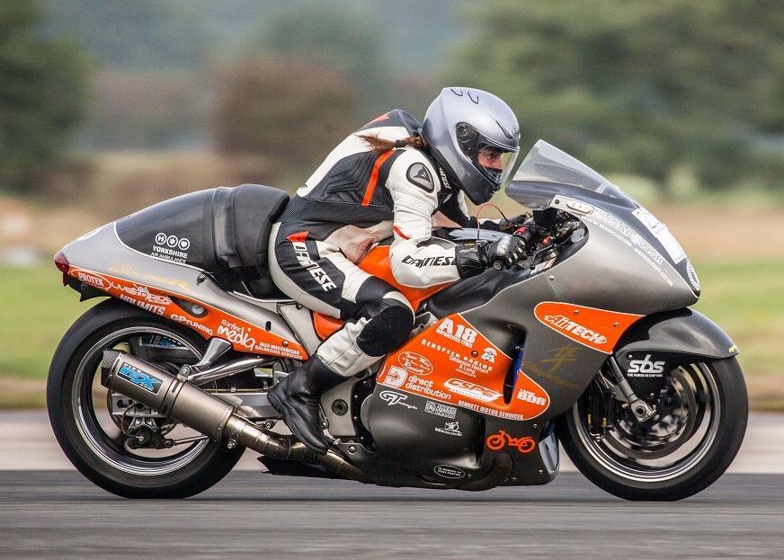 Becci Ellis - BDR Performance Suzuki Hayabusa