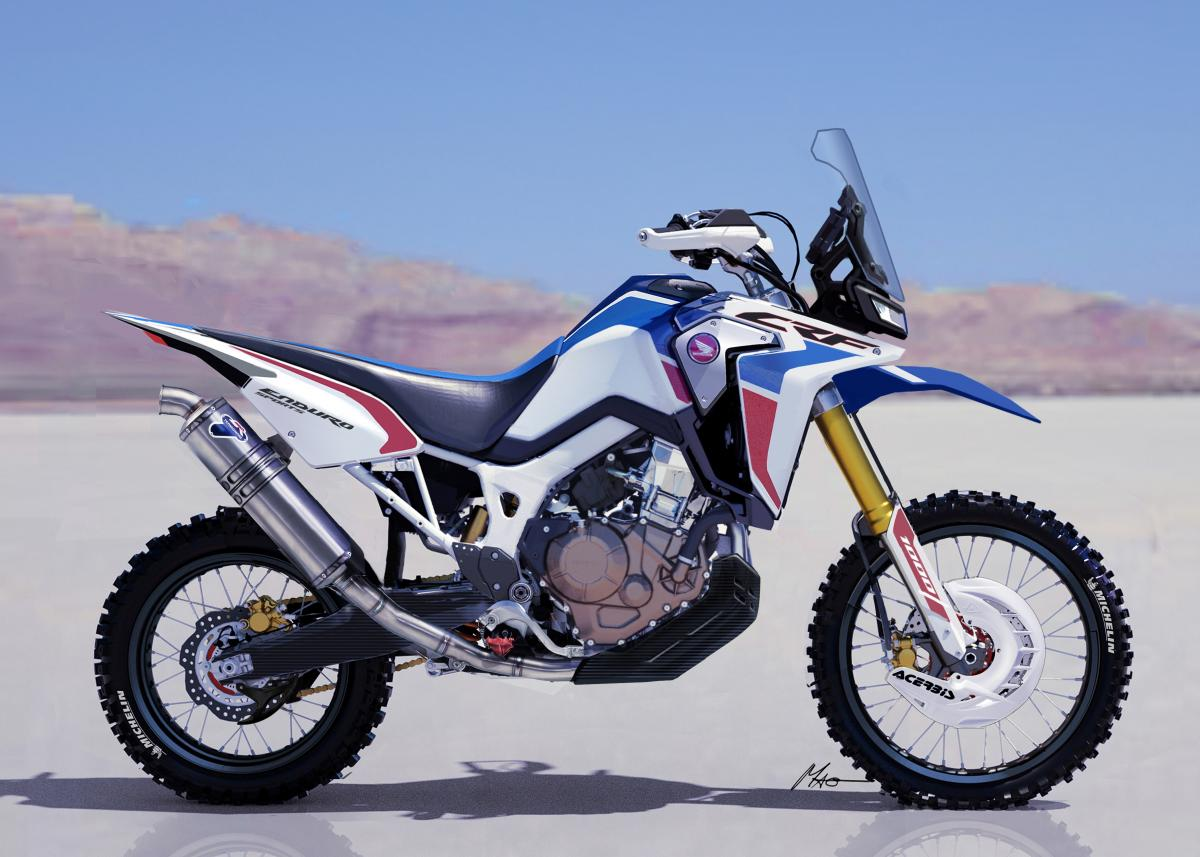 Africa Twin Enduro Sports Concept