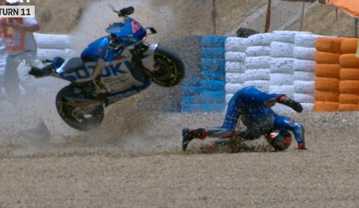 WATCH: Alex Rins set to miss 2020 MotoGP opener after h... | Visordown