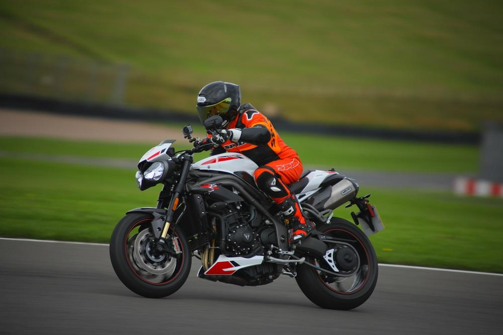 Visordown Track Day Donington Triumph Speed Triple RS