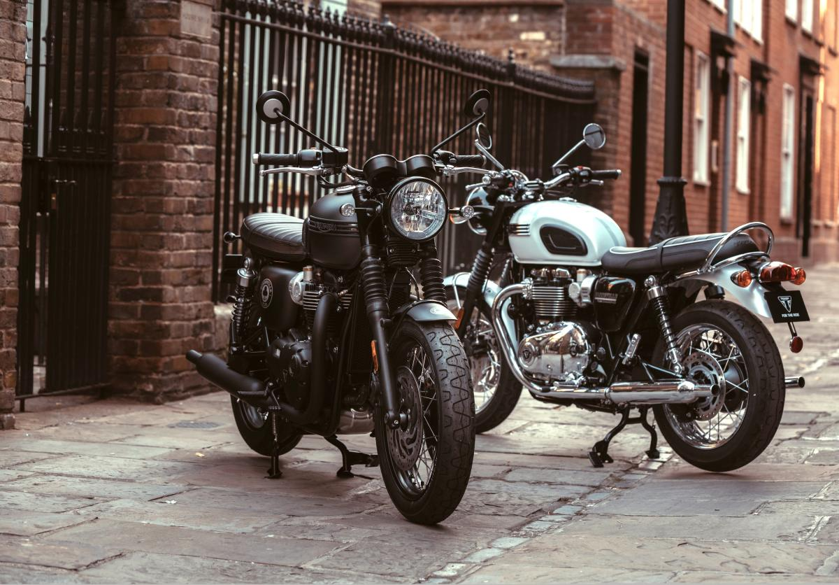 Triumph Bonneville Ace and Diamond editions