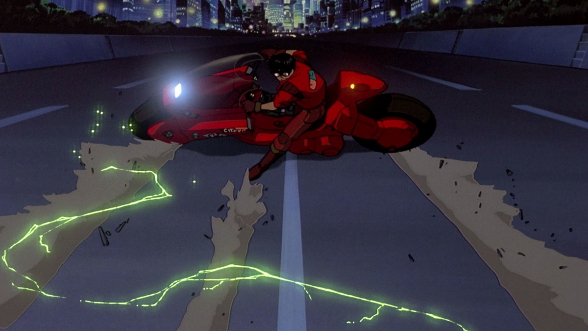 Best Movie Motorcycles Akira Kaneda