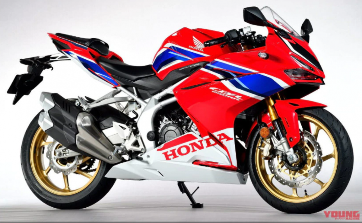 2020 Honda CBR250RR [credit: Young Machine]