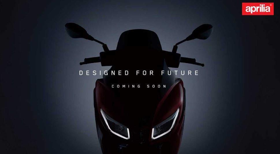 Aprilia SRX160 teased ahead of launch