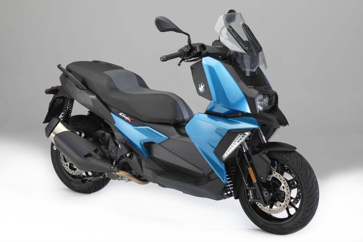 BMW's new 400-class scooter