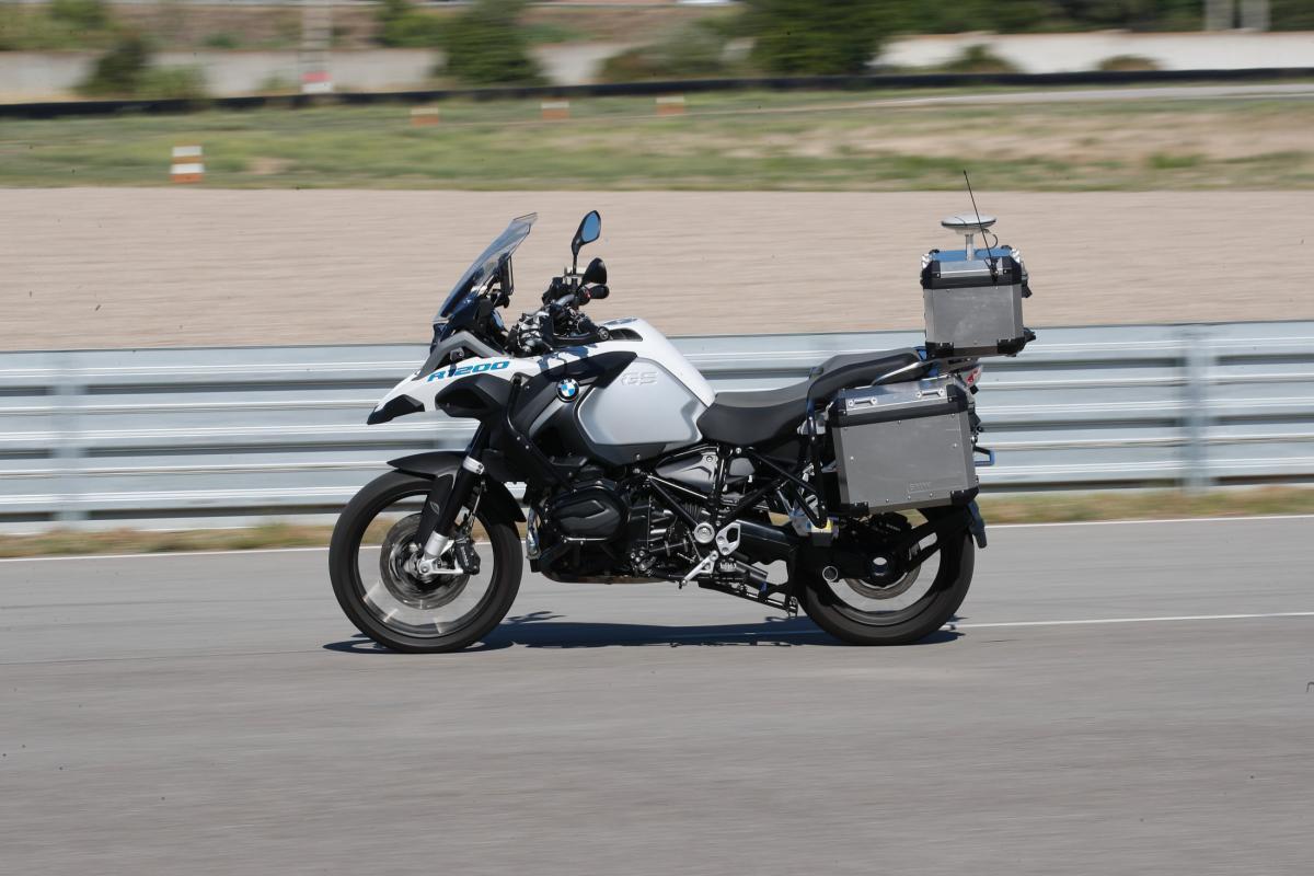 BMW self riding GS