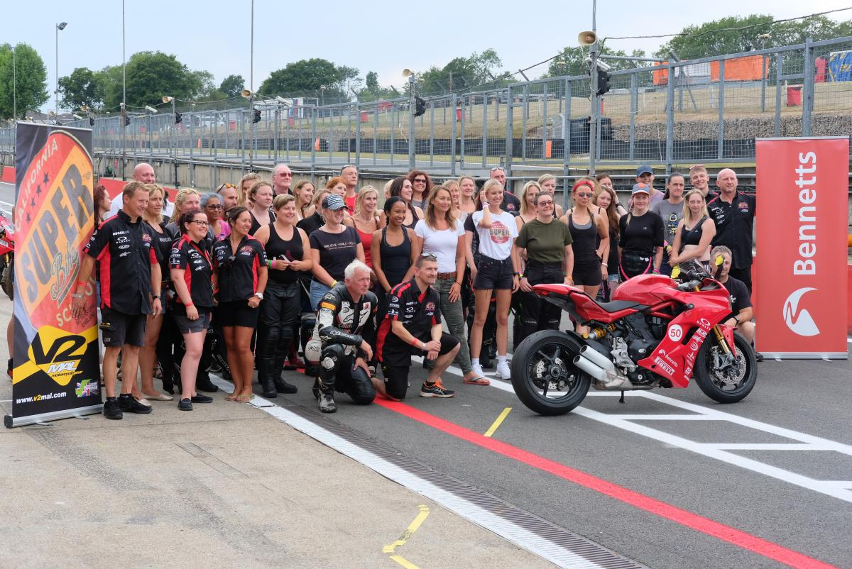 First California Superbike School Ladies' Day a success