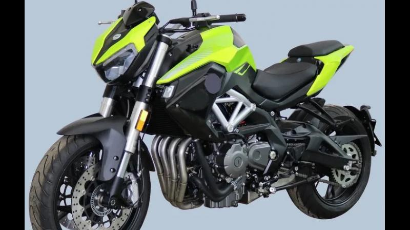 QJ SRK600: The replacement for Benelli TNT 600i is not