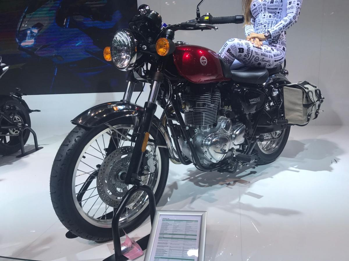 Benelli Imperiale retro roadster revealed at Eicma