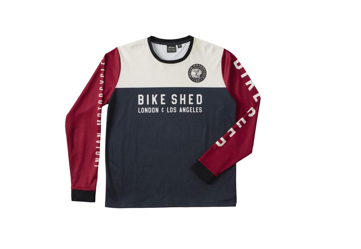 Bike Shed Motorcycle Club Indian Motorcycle Jersey