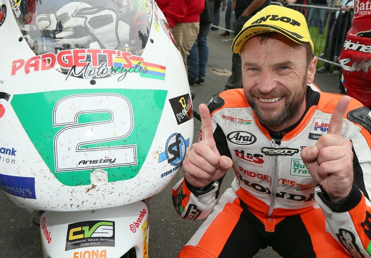 Bruce Anstey returns to the Isle of Man