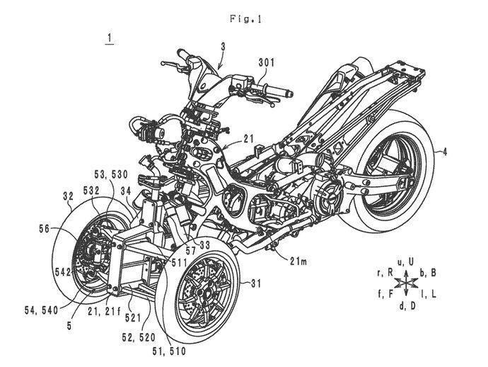Brudeli Yamaha Leaning trike